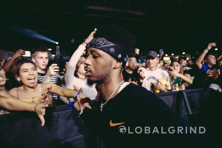 Metro Boomin gets some more from the crowd.