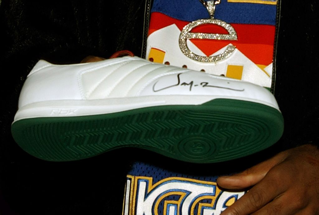2003 NBA All-Star Weekend - Reebok and Jay-Z to Launch the 'S. Carter Collection by Rbk'
