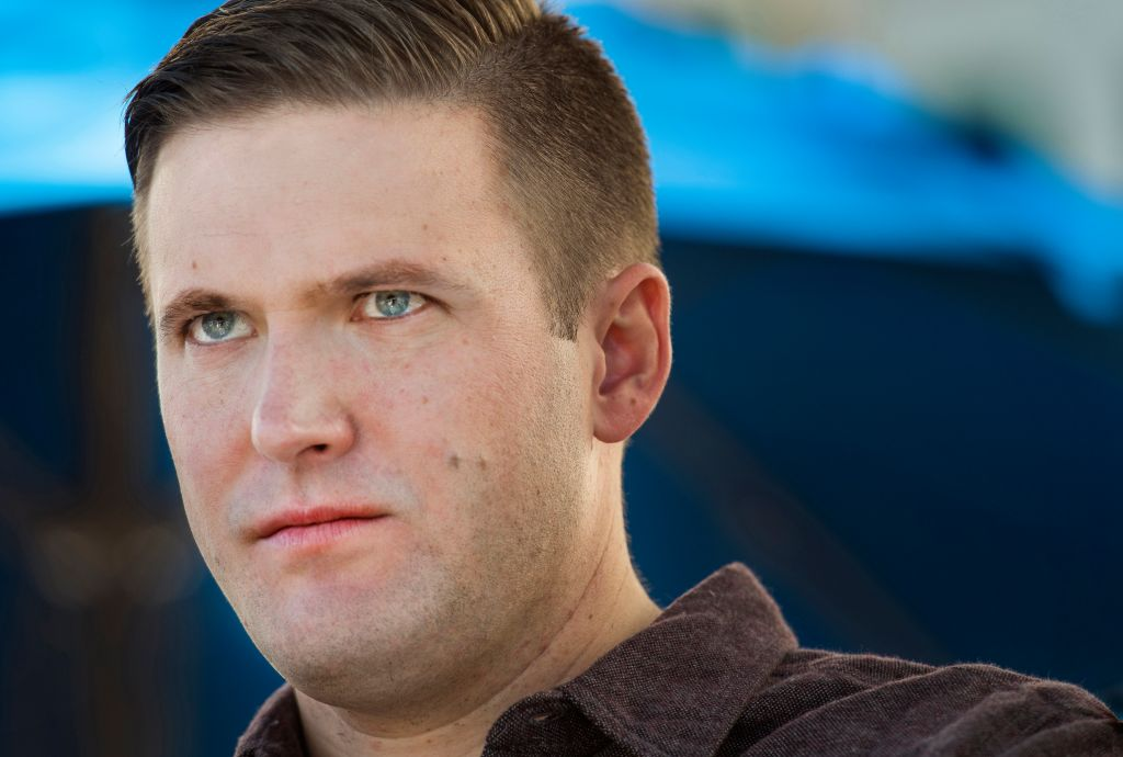 Alternative Right White Nationalist In Town For Conference