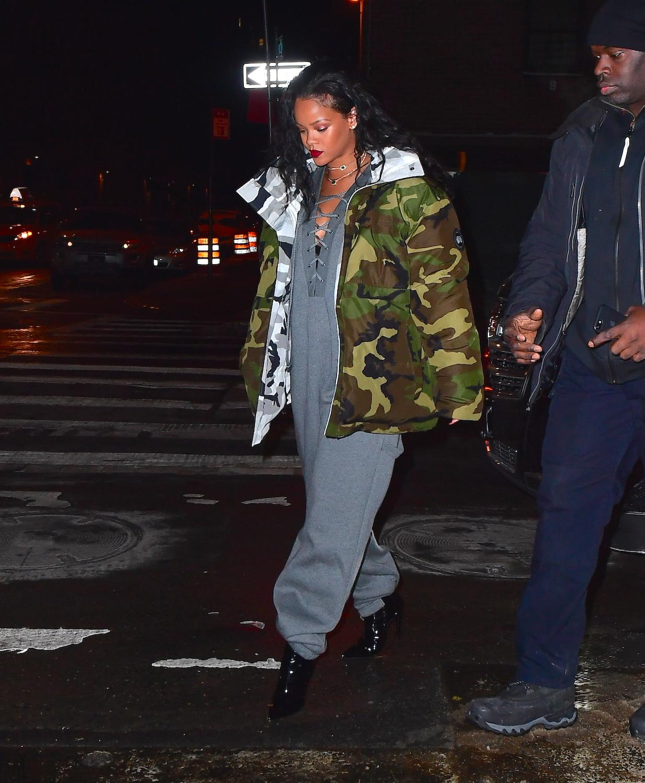 Rihanna NYC January 2017