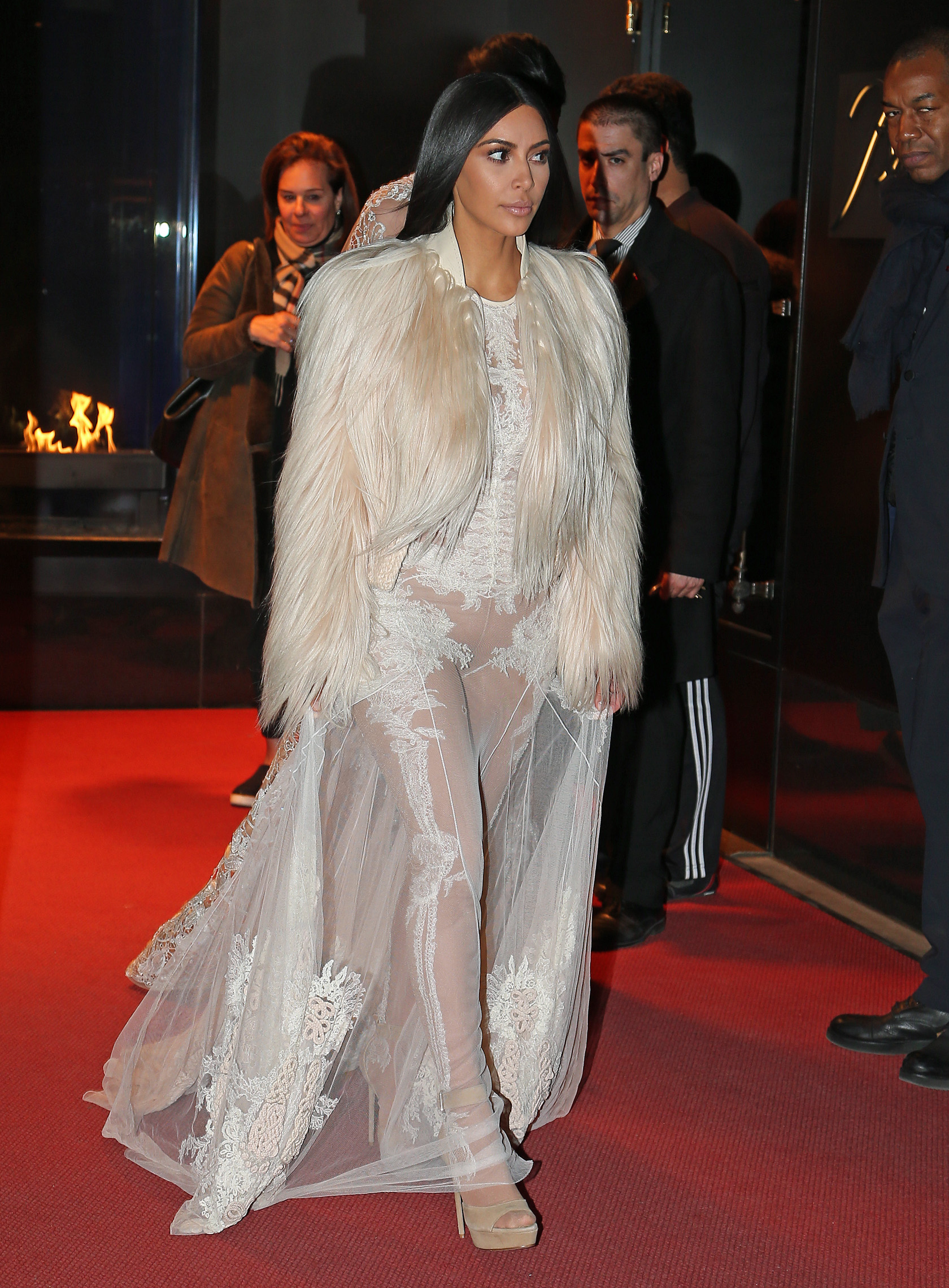 Kim Kardashian and Kendall Jenner film Ocean's 8 in New York City