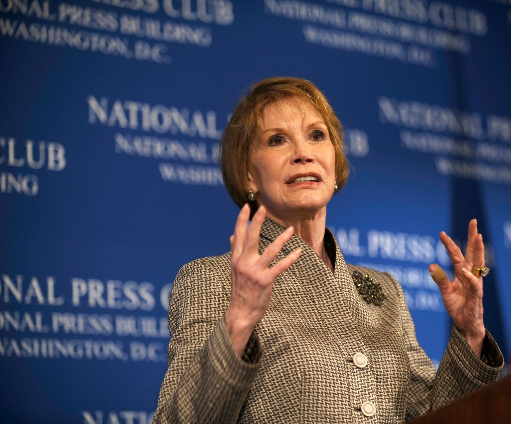 USA - Washington DC - Mary Tyler Moore at the National Press Club