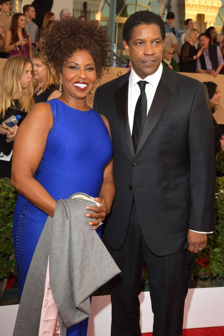 Denzel and Pauletta Washington brought black love to the SAGs.