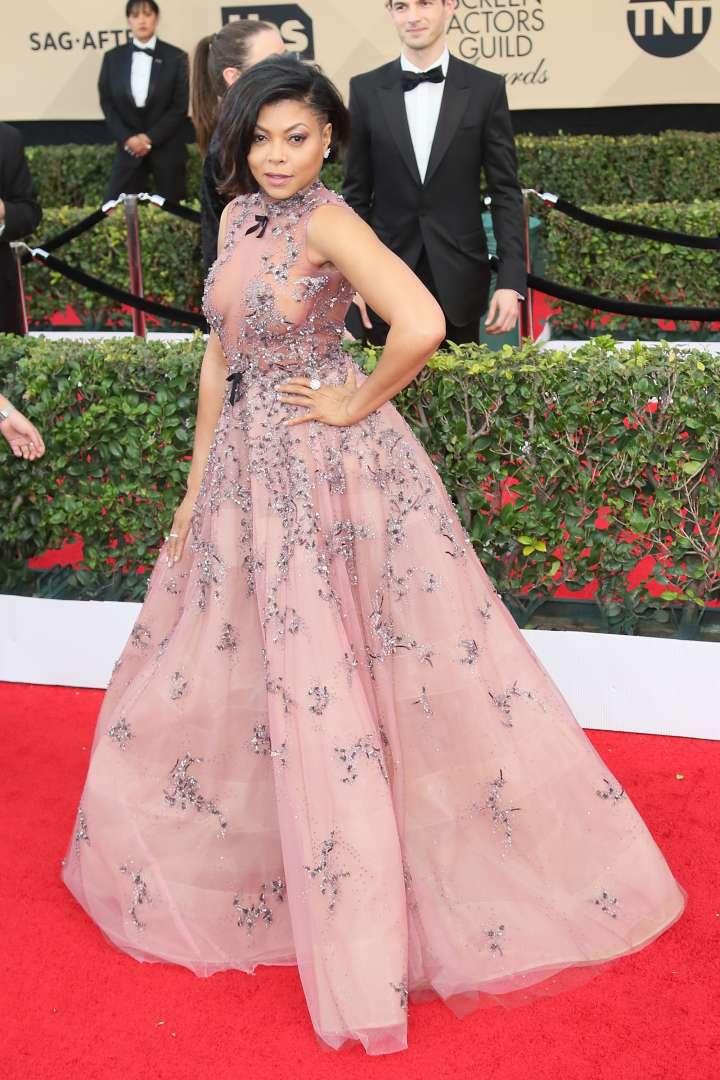 Taraji P. Henson was the star of the show.