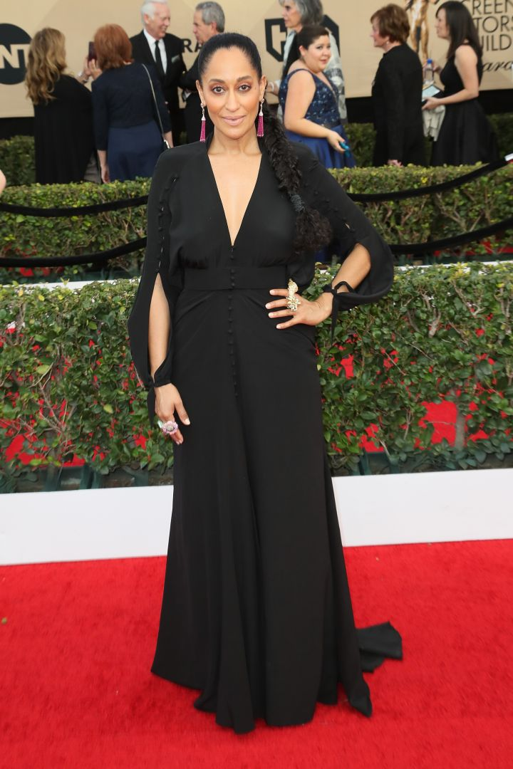 Tracee Ellis Ross kept it simple and elegant.
