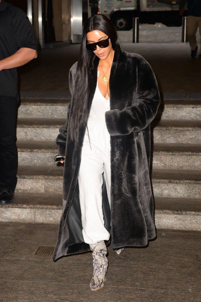 Celebrity Sightings in New York City - January 17, 2017
