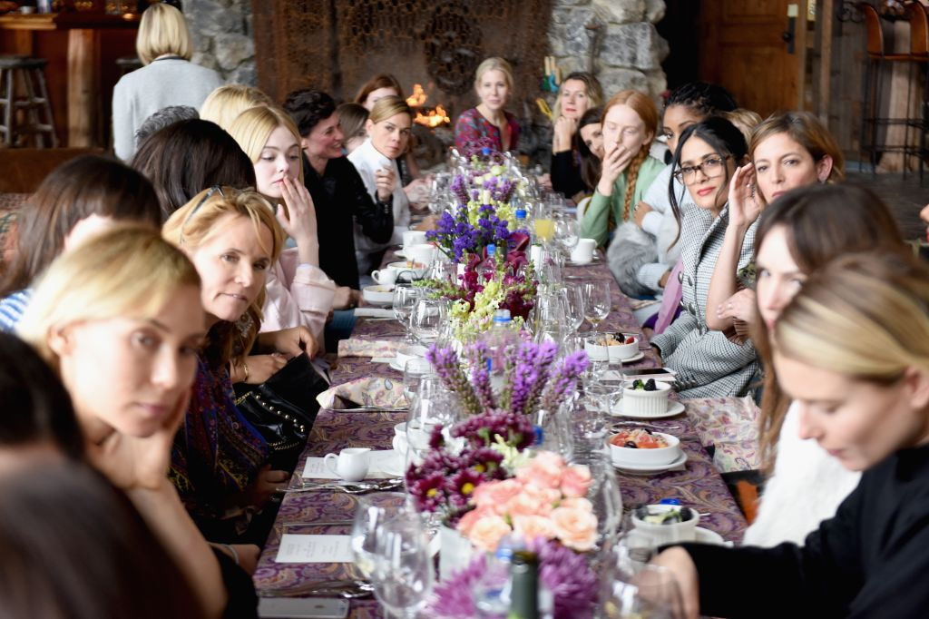Glamour's Cindi Leive And Girlgaze's Amanda de Cadenet Host Lunch Celebrating Films Powered By Women During Sundance - 2017 Park City
