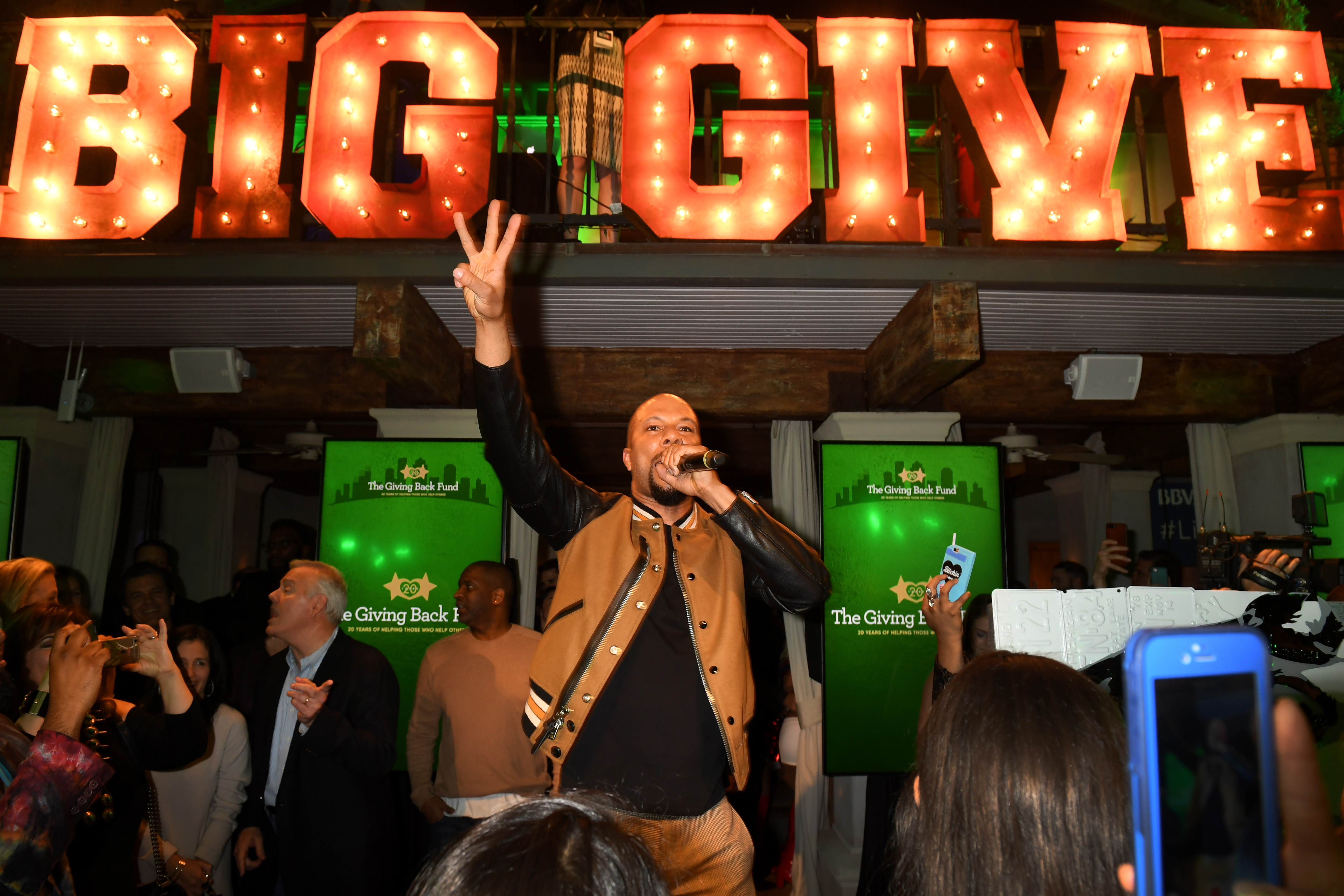 The Giving Back Fund's 8th Annual Big Game Big Give Charity Event