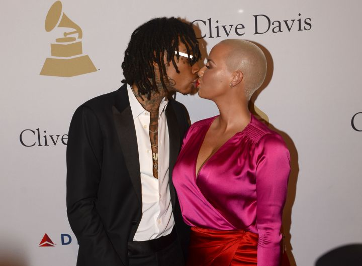 There was also a red carpet kiss that lit the internet on fire.