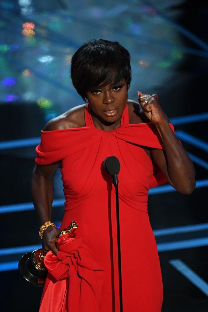 Viola Davis Finally Wins An Oscar