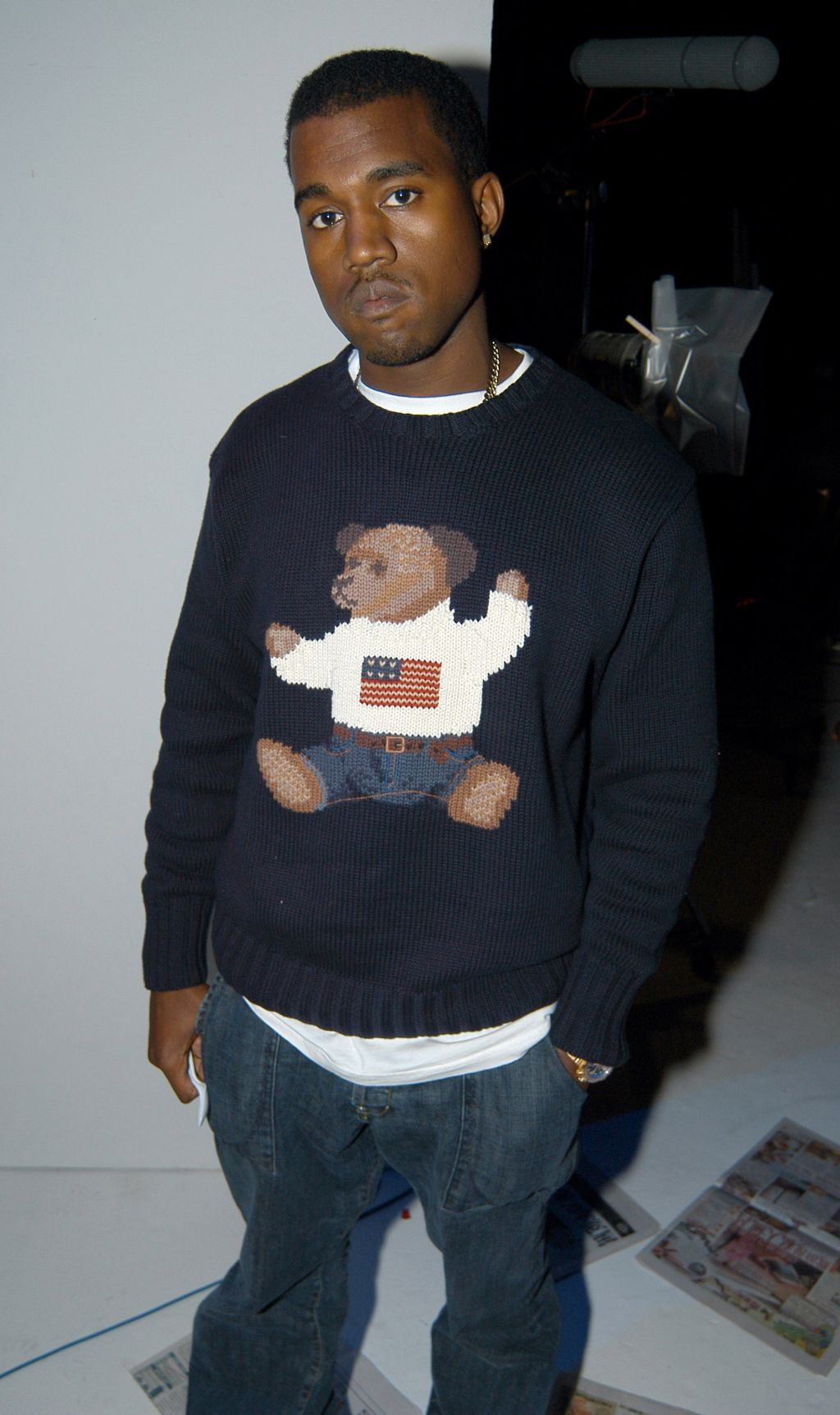 Kanye West's 'College Dropout' Video Shoot