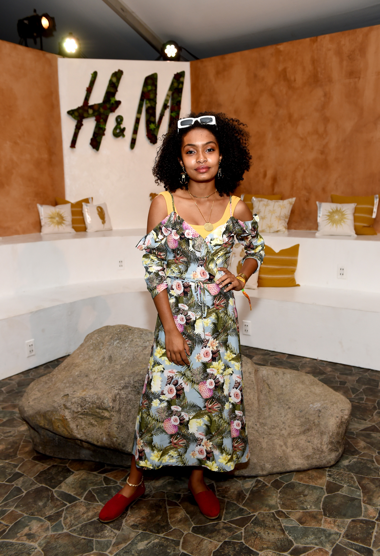H&M Loves Coachella Tent at The Empire Polo Field