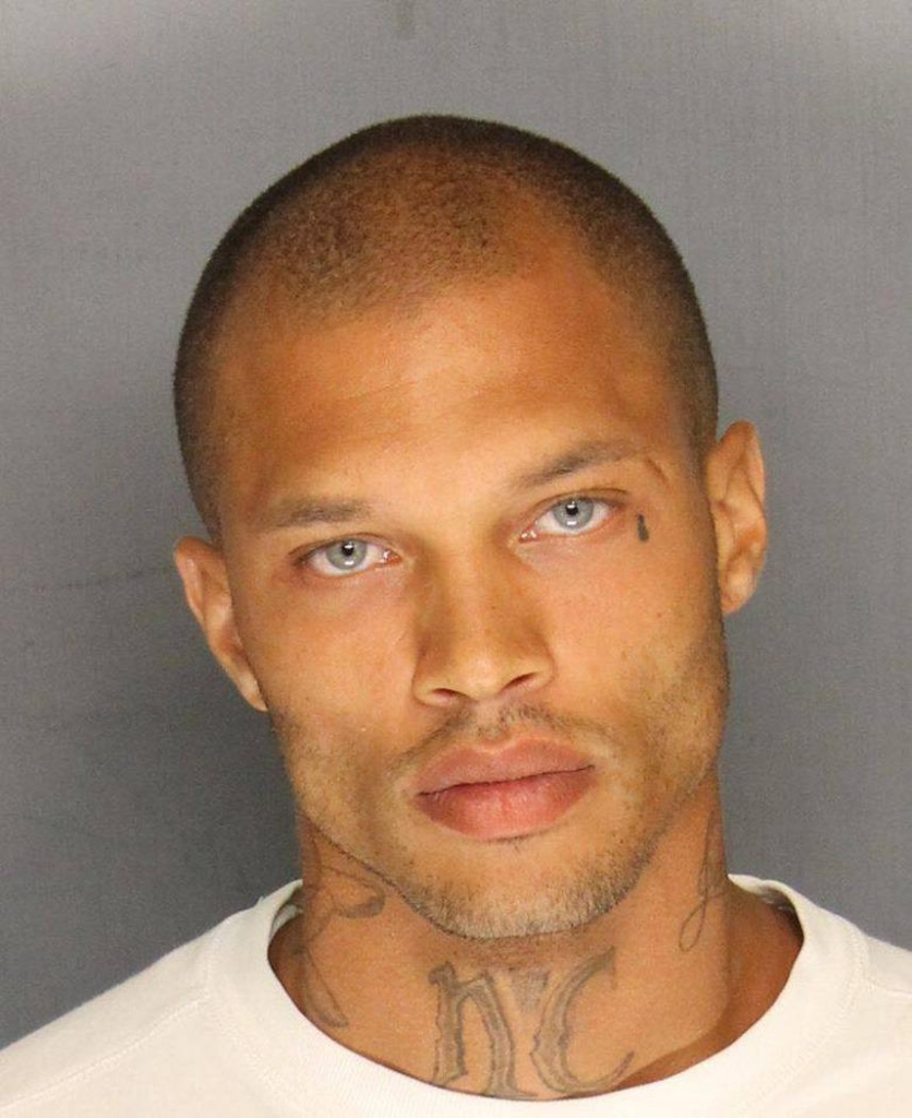 Jeremy Meeks Booking Photo