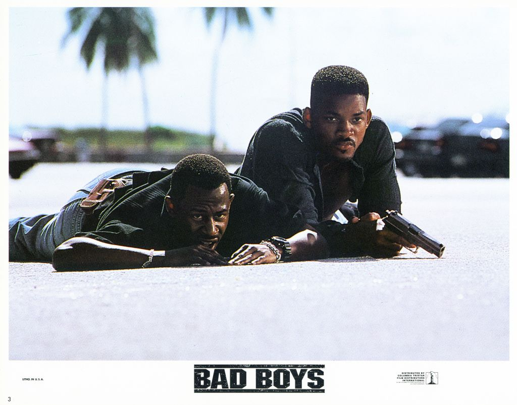 Lobby Card For 'Bad Boys'