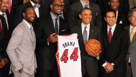 Miami Heat White House Visit
