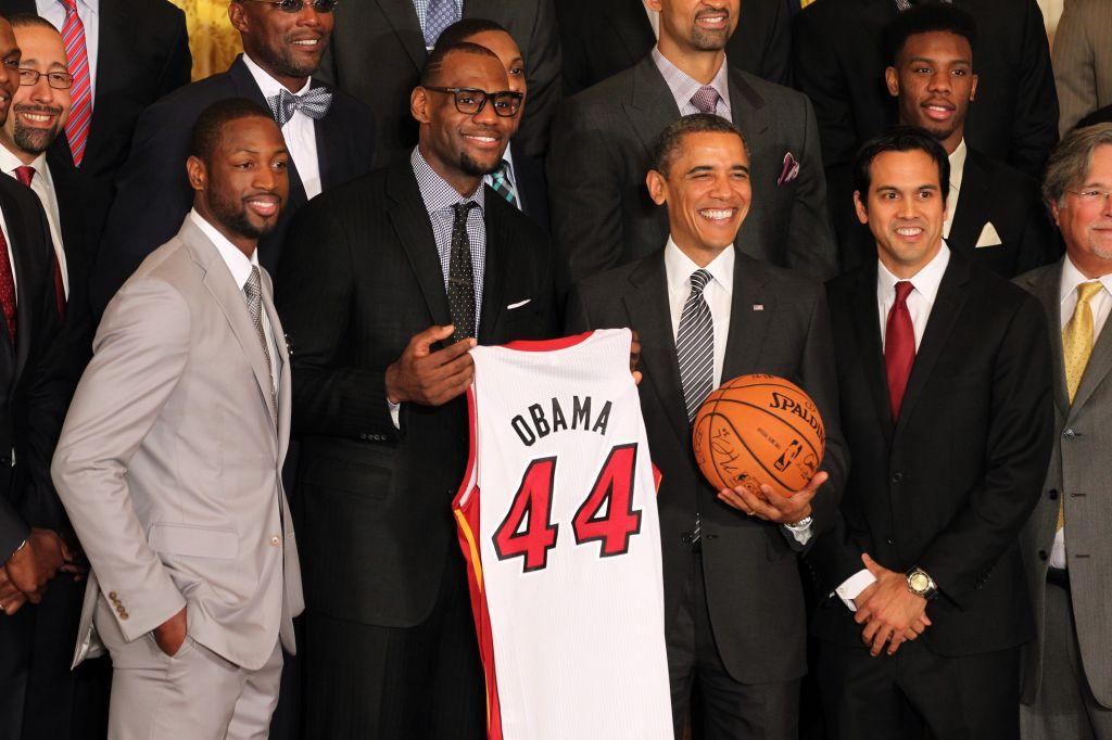 Miami Heat White House Visit