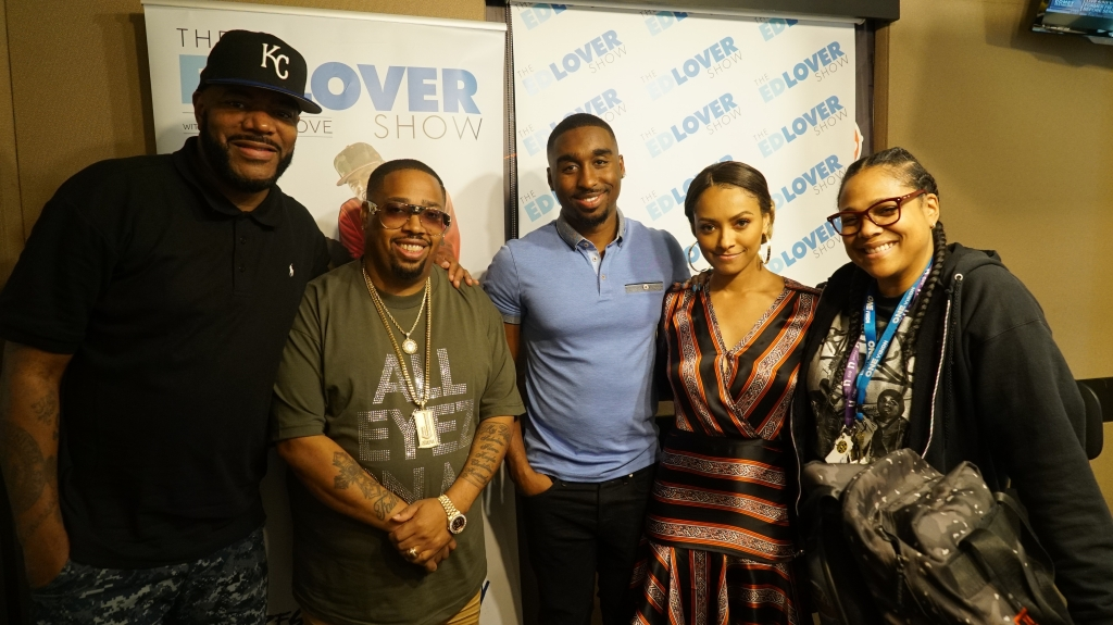 Ed Lover, L.T. Hutton, Demetrius Shipp Jr, Kat Graham, Monie Love