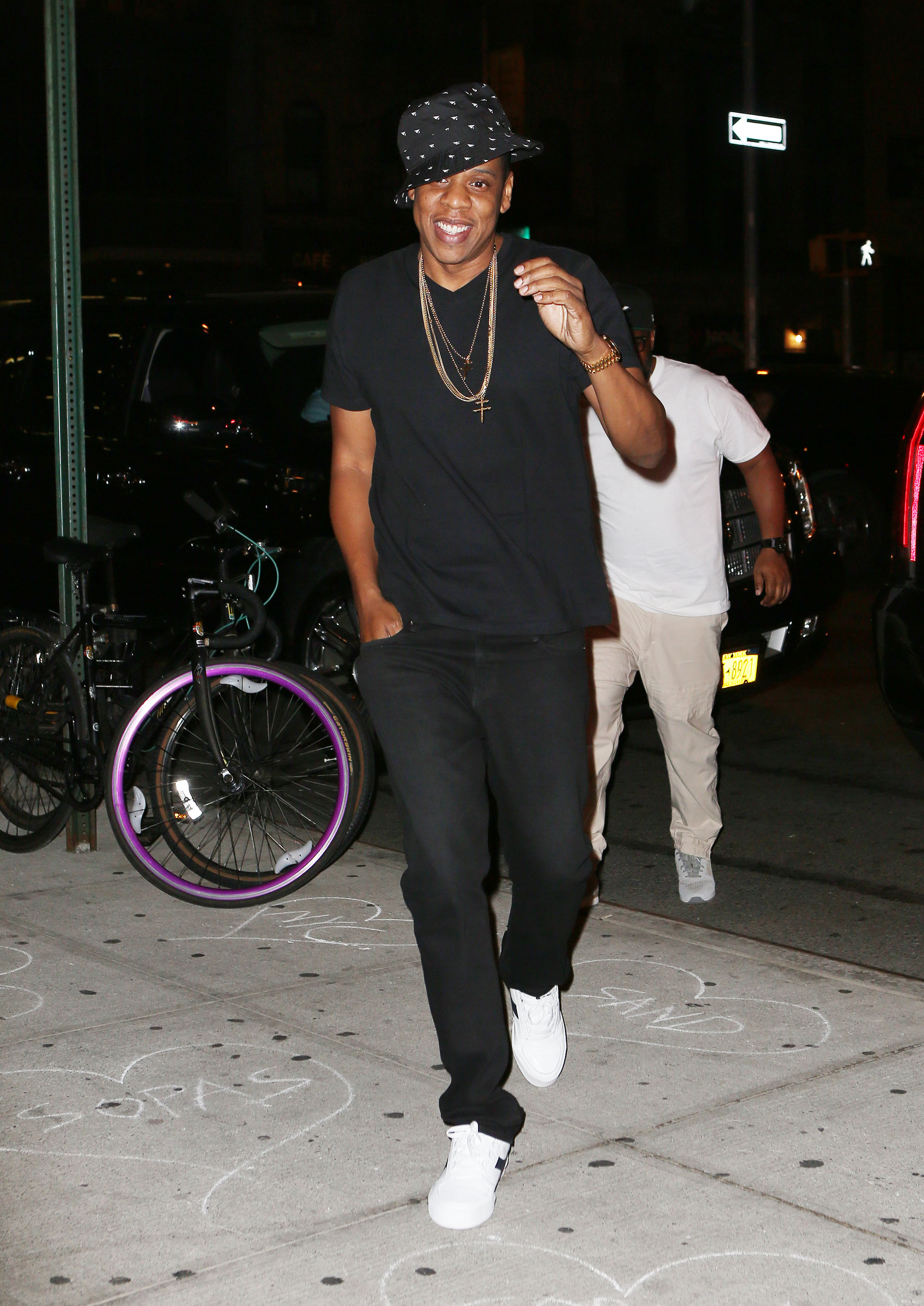 Beyonce and Jay Z go to dinner at La Esquina in NYC