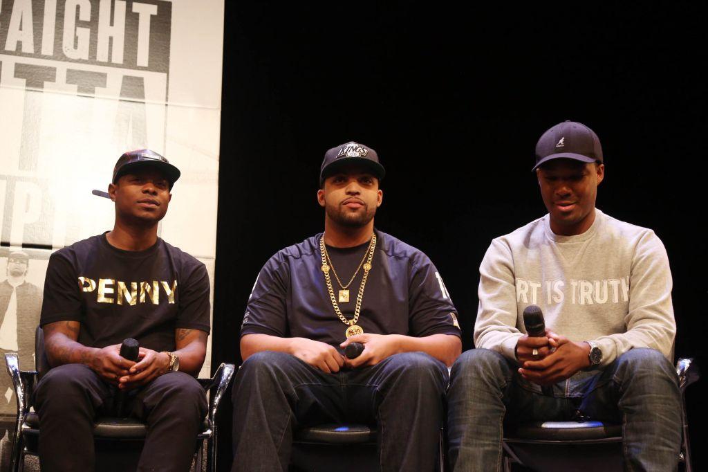 'Straight Outta Compton' New York Screening
