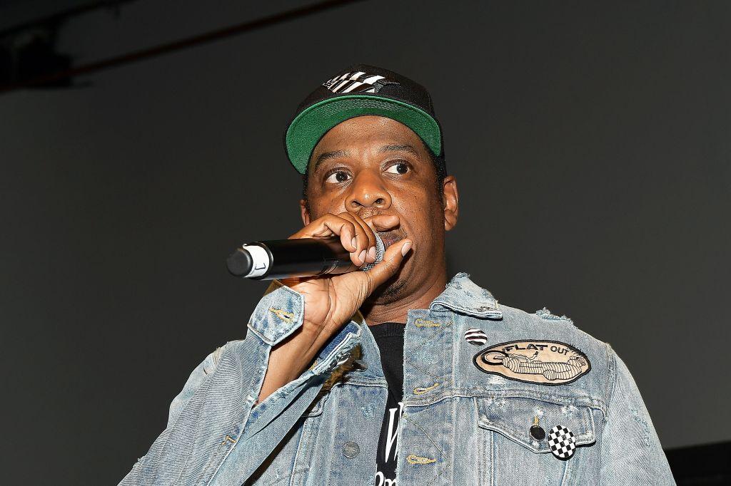Jay-Z Introduces Vic Mensa At Mack Sennett Studios