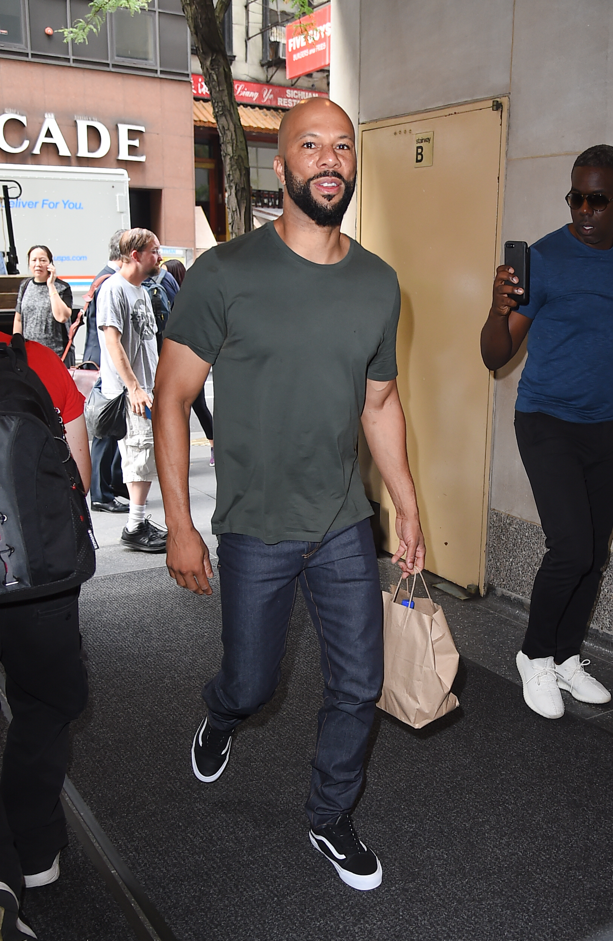 Celebrity Sightings in New York City - August 17, 2017