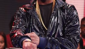 Terrence Howard & Juicy J Visit BET's '106 & Park'