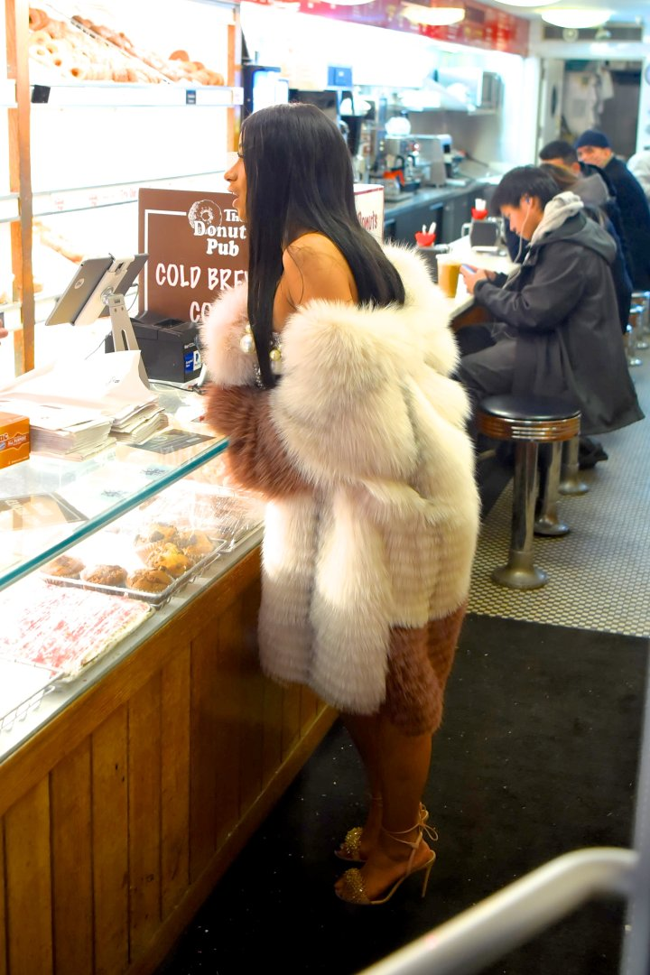 Furry booty.