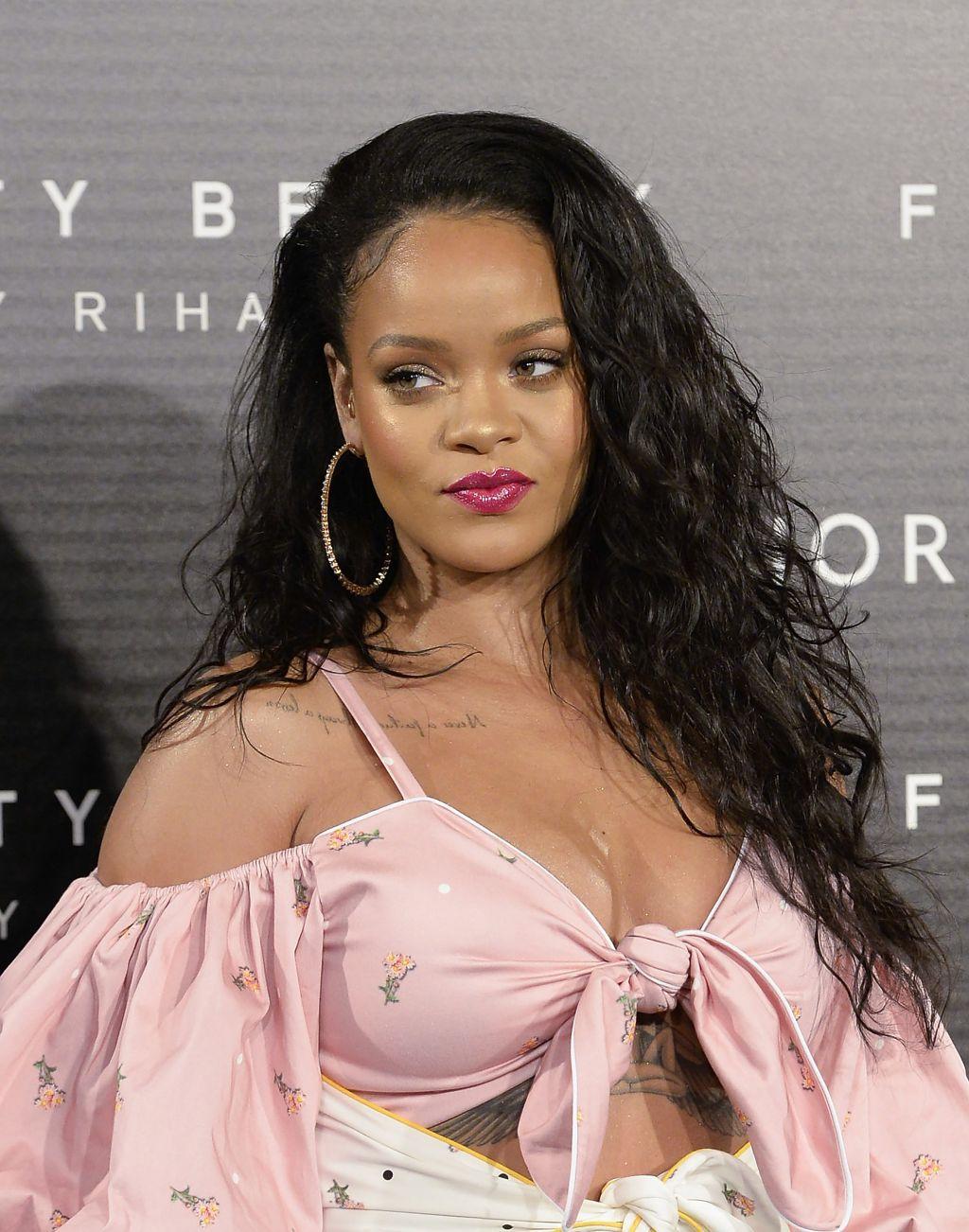 Rihanna Fenty Beauty Presentation in Madrid
