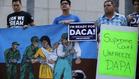 Activists Hold News Conference Ahead Of Supreme Court's Oral Arguments On Immigration Case