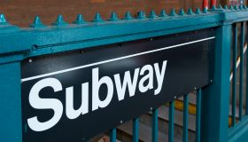 Subway sign; New York City, New York, United States of America