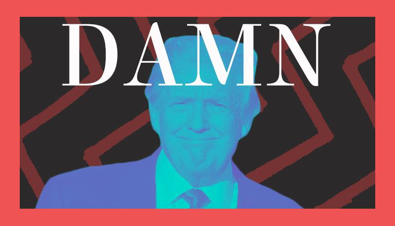 Damn, Donald Creative Image