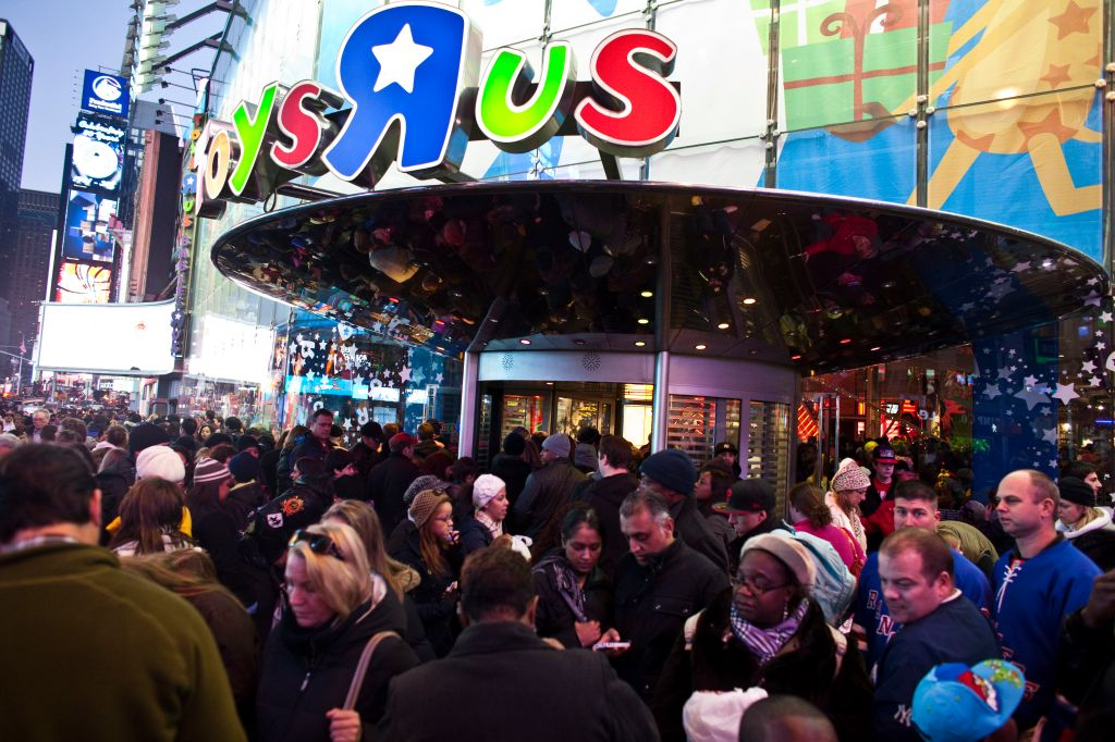 USA - Economy - Holiday Shoppers