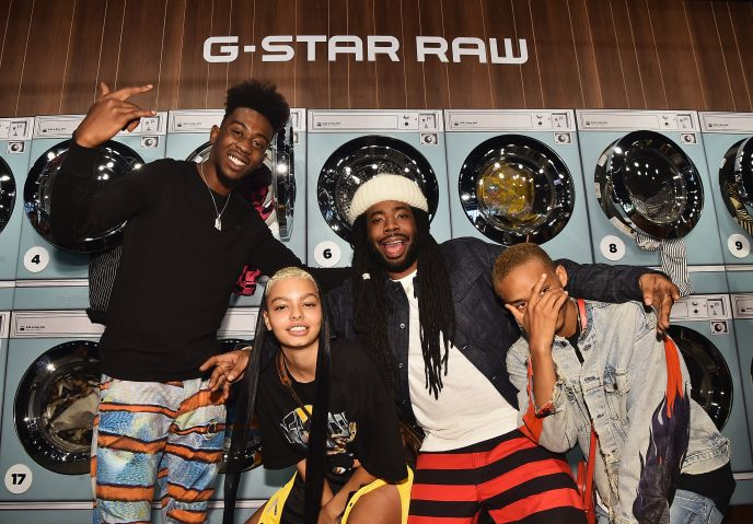 Pharrell Williams And G-Star RAW Present The New G-Star Elwood X25 Prints - New York Fashion Week - Spring/Summer 2018