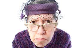 stern old lady