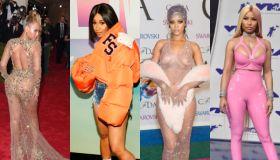 Rihanna, beyonce, Nicki Minaj, cardi b mash up