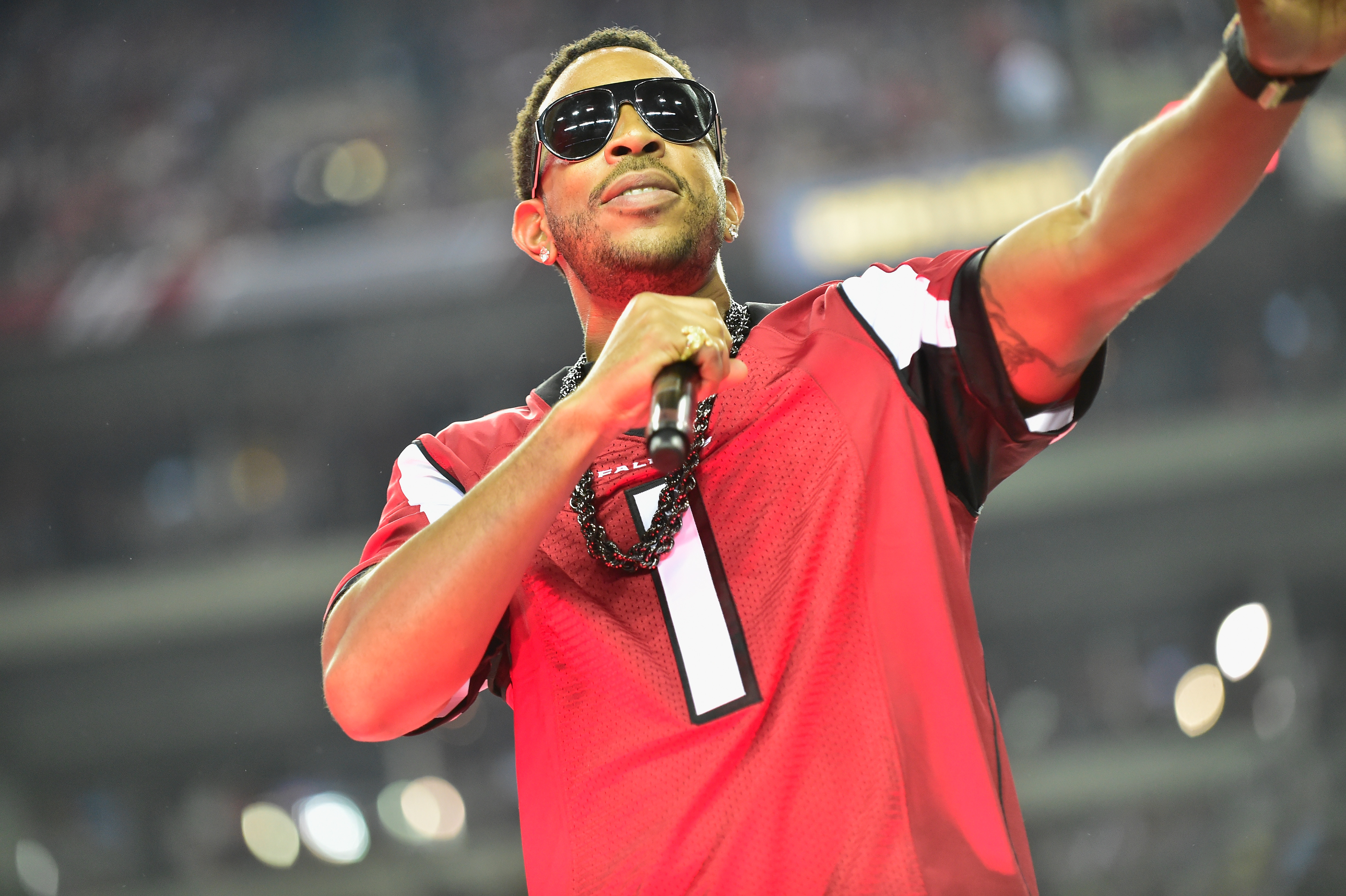 Celebrities Attend The Seattle Seahawks Vs Atlanta Falcons Divisional Playoff Game