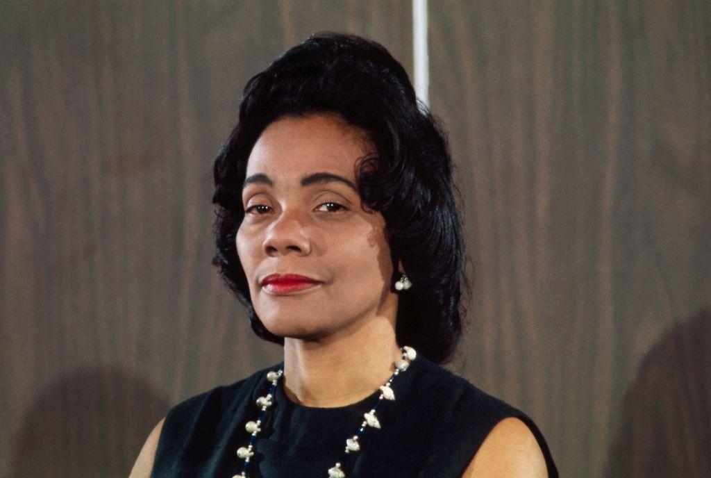 Portrait of Coretta Scott King Smiling