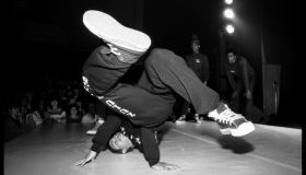 Break Dancer at The Venue, London 27 November 1982