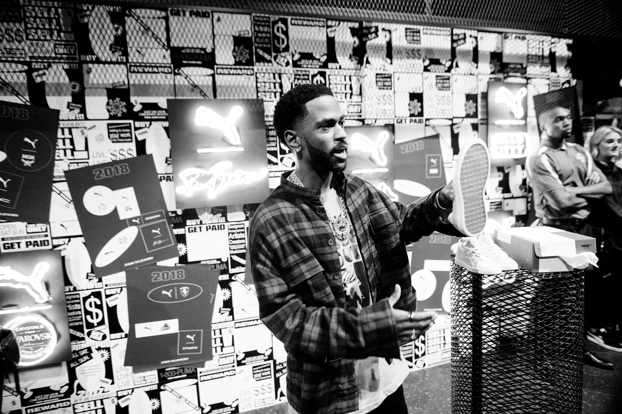 Big Sean Reveals His PUMA Suede 50 Drop at ComplexCon