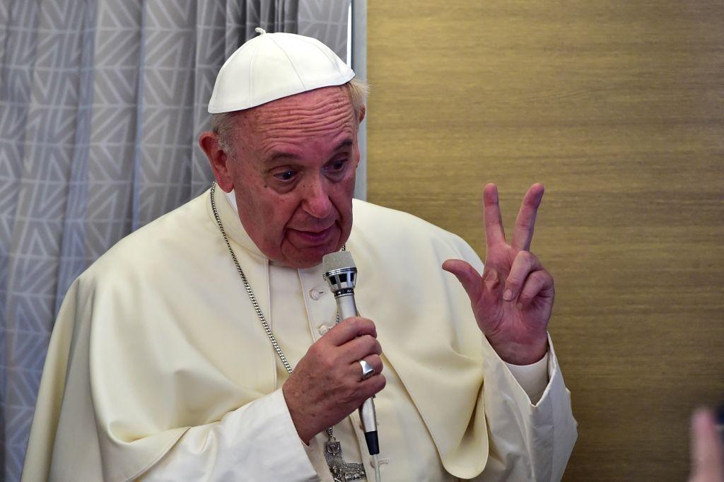 CAFRICA-VATICAN-POPE-AFRICA