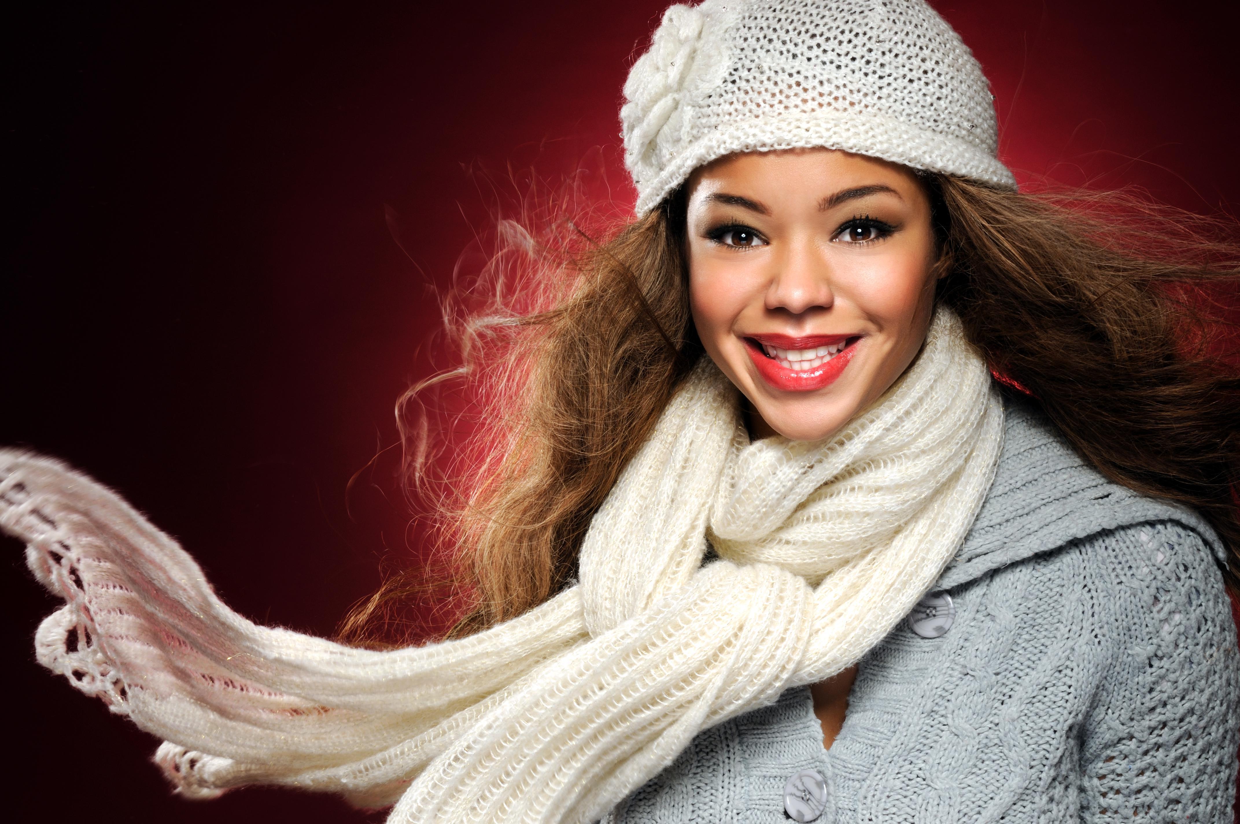 Cheerful Winter Beauty