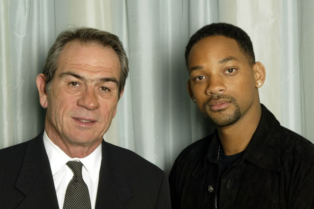 Tommy Lee Jones and Will Smith