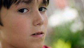Young boy's face