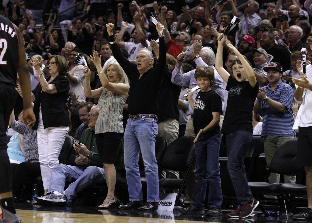 Portland Trail Blazers v San Antonio Spurs - Game One