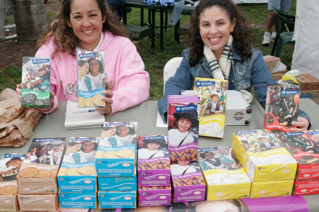 Miami-Dade College, Chinese New Year Festival, Selling Girl Scout Cookies