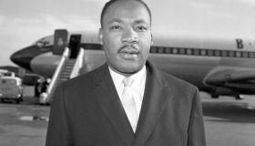 Civil Rights Movement - Martin Luther King - Heathrow Airport, London
