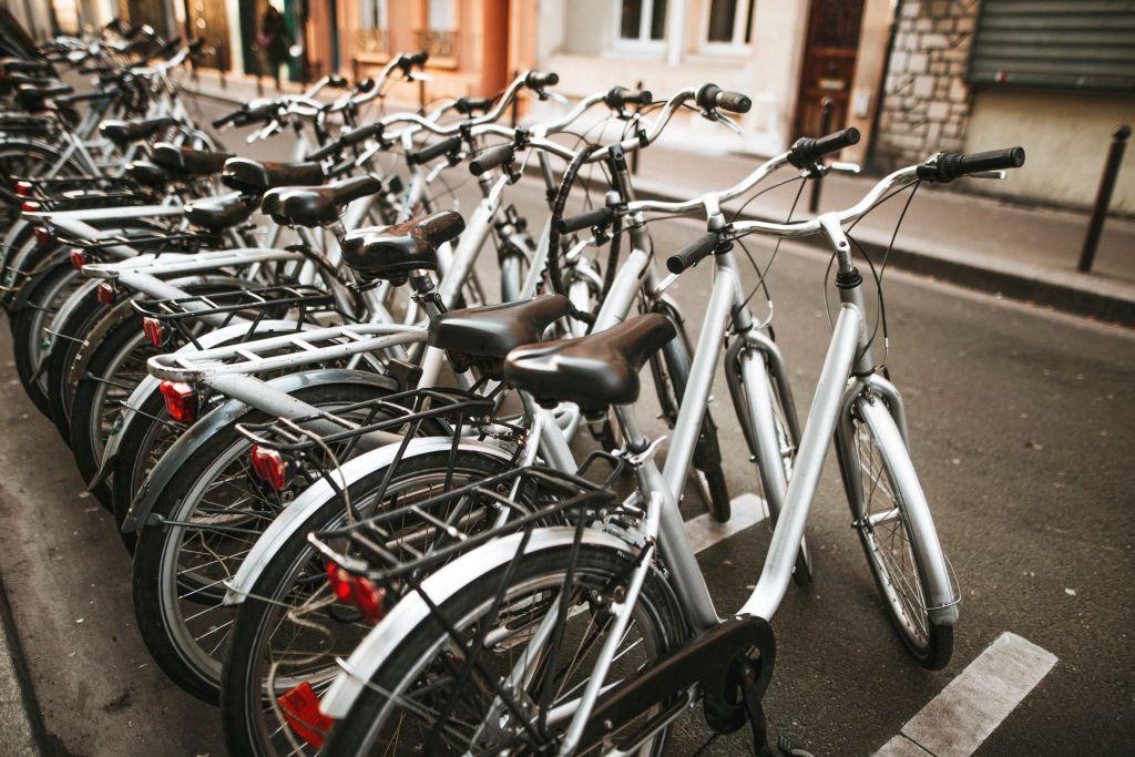 Bikes for rent in Paris