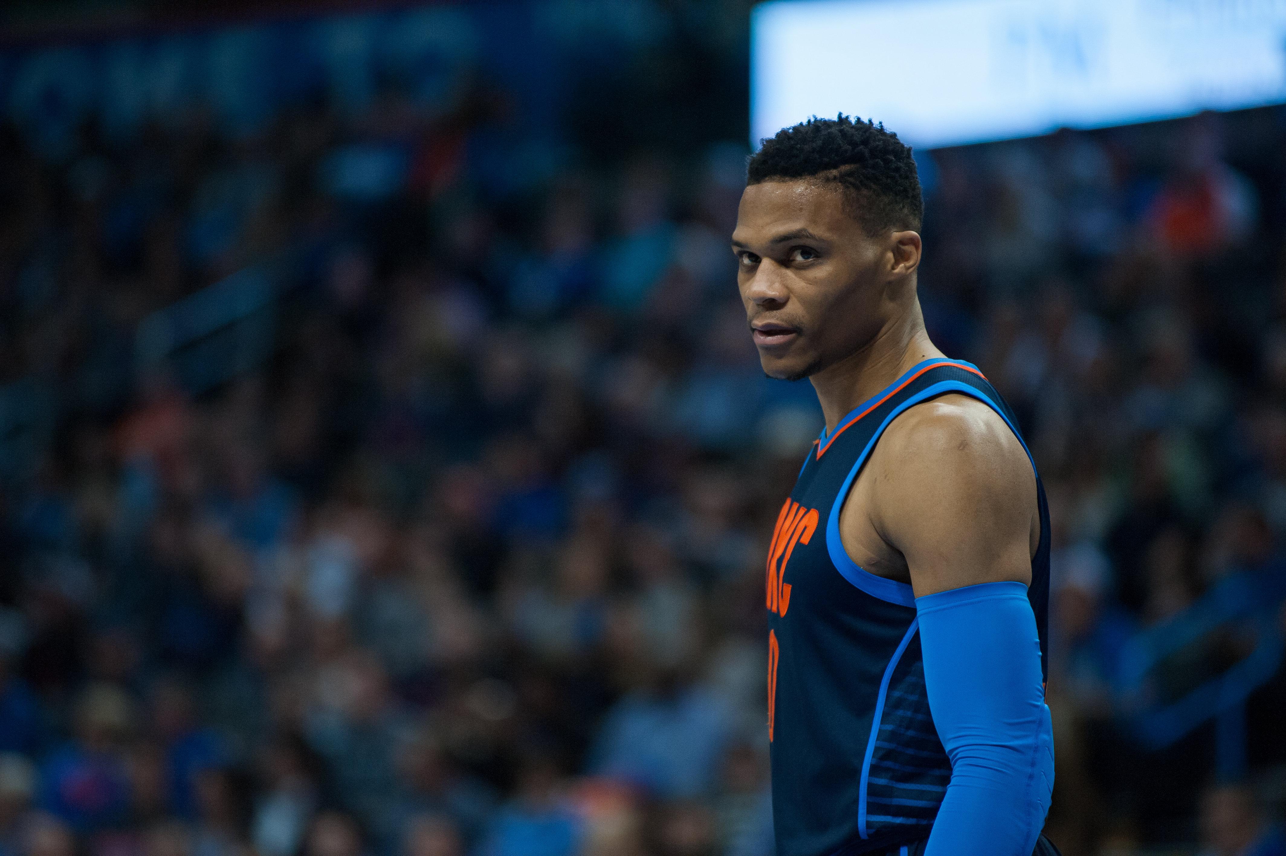 NBA: JAN 28 76ers at Thunder
