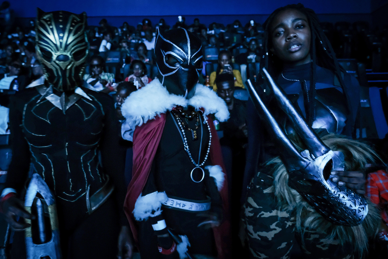 KENYA-MOVIE-BLACK PANTHER-COSPLAY