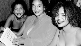 Bill Cosby daughters Ensa, Erika and Evin at the Candace Awa